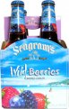 Seagram's Escapes Wine Coolers Wild Berries 4Pack 11.2oz Bottles  *ID Required*