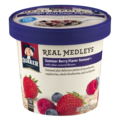 Quaker Real Medleys Summer Berry Oatmeal 2.46oz Cup