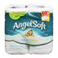 Angel Soft Bath Tissue Double Roll 2-Ply Unscented 4CT