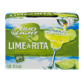 Bud Light Lime-A-Rita Beer 12CT 8oz Cans *ID Required*