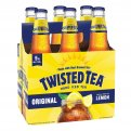 Twisted Tea Original Hard Iced Tea Malt Beverage  6CT 12oz Bottles *ID Required*