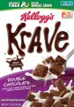 Kellogg's Krave Double Chocolate Cereal 11oz Box