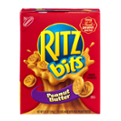 Nabisco Ritz Bitz Sandwich Crackers w Peanut Butter 8.8oz PKG
