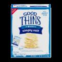 Nabisco Good Thins Rice Simply Salt Snacks 3.5oz Box