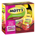 Mott's Snack & Go Cinnamon Applesauce 3.2 oz Pouches 4 Count PKG