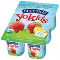 Stonyfield YoKids Strawberry & Strawberry Banana 4oz EA 6PK