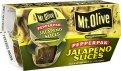 Mt. Olive PepperPak Jalapeno Slices 3.7oz Cups 4CT PKG