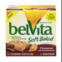 Nabisco belVita Soft Baked Breakfast Biscuits Cinnamon 5PK Box