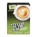 Stevia In The Raw 100% Natural Zero Calorie Sweetener Packets 50CT Box