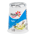 Yoplait Light Fat Free Yogurt Very Vanilla 6oz Cup