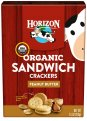 Horizon Organic Sandwich Crackers Peanut Butter 7.5oz Box