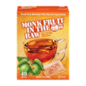 Monk Fruit in the Raw Zero Calorie Sweetener Packets 40CT Box