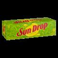 Sun Drop Citrus Soda 12 Pack of 12oz Cans