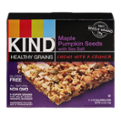 KIND Healthy Grains Granola Bars Maple Pumpkin Seeds With Sea Salt 5CT Box 6.2oz