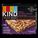 KIND Healthy Grains Granola Bars Maple Pumpkin Seeds With Sea Salt 5CT Box 6.2oz