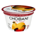 Chobani 2% Greek Yogurt Mango On The Bottom 5.3oz Cup
