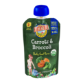 Earth's Best Organic Stage 2 Carrots & Broccoli Baby Food Puree 3.5oz Pouch