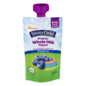 Stonyfield Organic Whole Milk Yogurt Blueberry 3.7oz Pouch