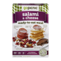 GoPicnic Ready-To-Eat Meal Salami & Cheese 3.6oz Box
