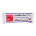 Good Food Made Simple Breakfast Burrito Uncured Canadian Bacon 5oz