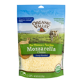 Organic Valley Mozzarella Cheese Finely Shredded 6oz Bag