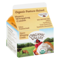 Organic Valley Heavy Whipping Cream 8oz Carton