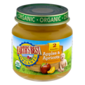 Earth's Best Organic Stage 2 Apples & Apricots 4oz Jar