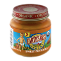 Earth's Best Organic Stage 2 Sweet Potatoes 4oz Jar