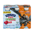 Stonyfield Organic YoKids sMOOthie Lowfat Yogurt Very Berry 6CT 18.6oz