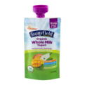 Stonyfield Organic Yotot Organic Whole Milk Yogurt Pear-Spinach-Mango  3.7oz Pouch