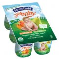 Stonyfield Farm YoBaby Yogurt Peach/Pear 6CT PKG 24oz