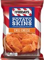 TGI Fridays Potato Skins Snack Chips Chili Cheese 3oz Bag