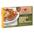 Applegate Naturals Breakfast Sausage Patties Chicken & Maple Patties 6CT 7oz Box