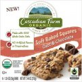 Cascadian Farm Organic Soft Baked Squares Oats & Chocolate 6CT 7.44oz Box