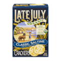 Late July Organic Soda Crackers Classic Saltine 6oz Box