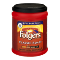 Folgers Coffee Classic Roast Medium Ground 11.3oz Can