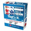 That's It Apple Blueberries Fruit Bar 1.2oz PKG