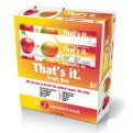 That's It Apple Apricots Fruit Bar 1.2oz PKG
