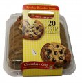 Store Brand AF Baked in Store Toll House Chocolate Chip Cookies 20CT 28.25oz PKG *(See Note)*