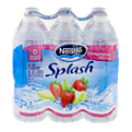 Nestle Pure Life Splash Water Strawberry Melon 6PK of 16.9oz Bottles