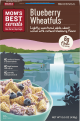 Mom's Best Blueberry Wheatfuls Cereals 22oz Box
