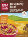 Mom's Best Oats & Honey Blend Cereals 18oz Box