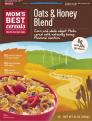 Mom's Best Oats & Honey Blend Cereals 18oz Box