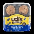 Udi's Gluten Free Muffins Blueberry 4PK 12oz