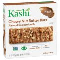 Kashi Chewy Nut Butter Bars Almond Snickerdoodle 5 Bar Box 6.15oz