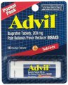 Advil Ibuprofen Coated Tablets 200mg Pocket Pack 10CT