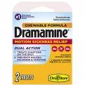 Dramamine Chewable Orange Flavored Tablets 2CT