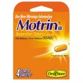 Motrin IB Ibuprofen 200mg Caplet 4CT