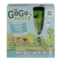 Materne GoGo Squeez Gimme Five Applesauce On The Go 3.2oz Pouch 4PK