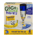 Materne GoGo Squeez Yogurtz Banana Yogurt On The Go 3oz Pouch 4PK